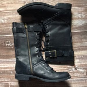 Timberland earthkeepers midrise black leather boot